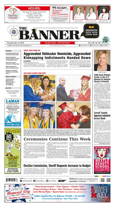 Classifieds - May 14, 2019 | The Mckenzie Banner