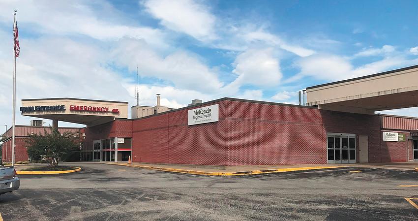 McKenzie (Tenn.) Regional Hospital.