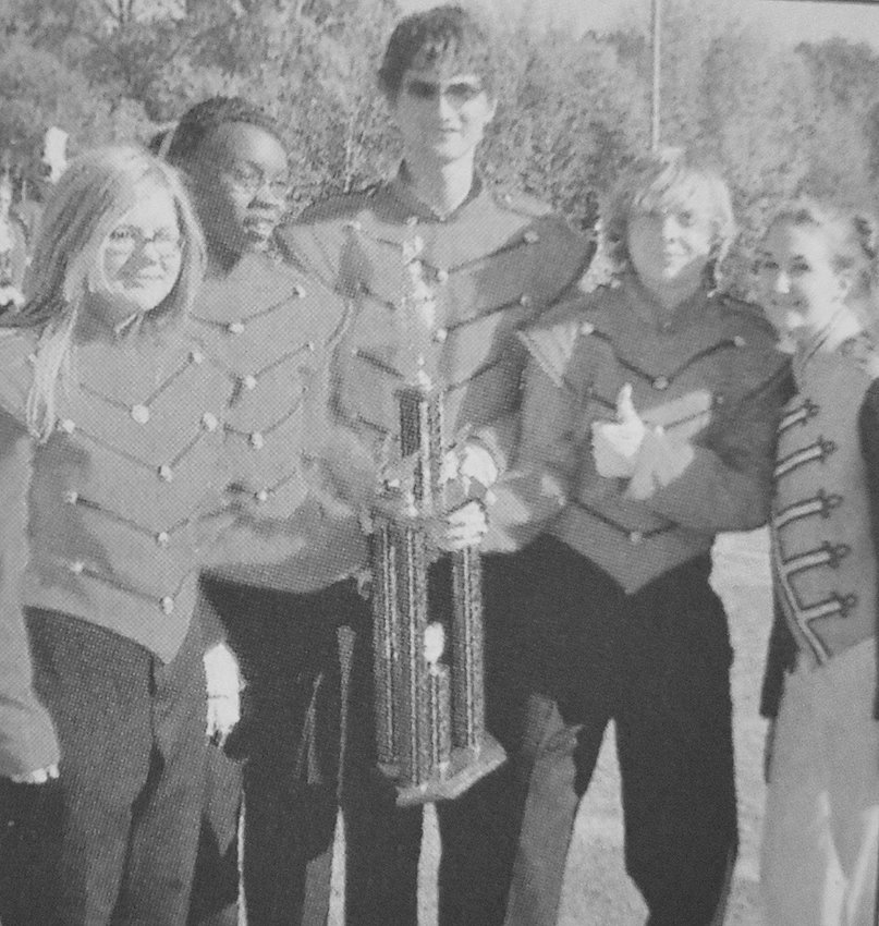 10 YEARS AGO — At a competition hosted by the Huntingdon Marching Mustangs, the McKenzie Marching Rebels earned first place in all categories in Class CCC, first place color guard and drum major and second place percussion in Division I and earned the trophies for High Marching and Grand Champion.