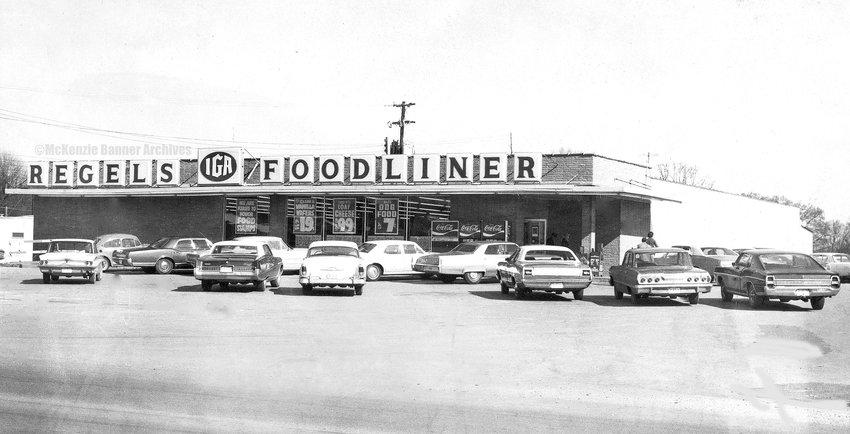 Regel Baker's IGA Foodliner, Highland Dr., 1960s.