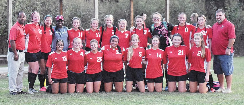 McKenzie High School Lady Rebels, back-to-back participants in the TSSAA Class A State Girls' Soccer Tournament.