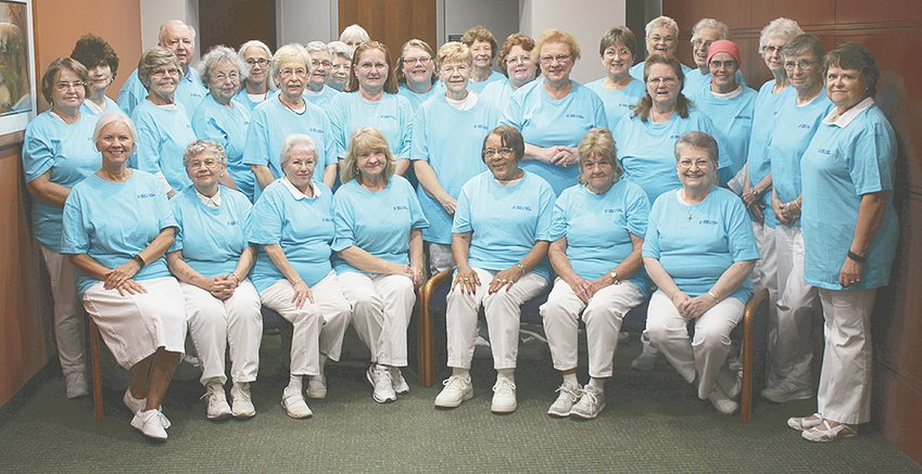 Pictured are members of the HCMC Volunteer Auxiliary.