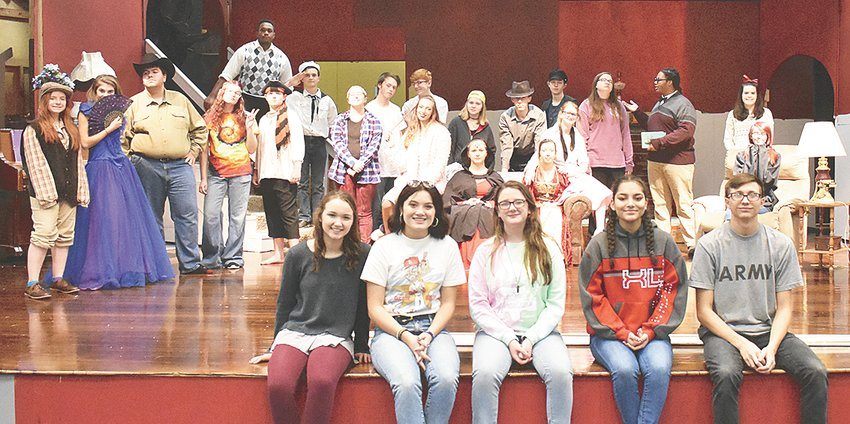 """The McKenzie High School Theater will present """"Usher: A Totally Teen Comedy"""" on Saturday, December 15 at 7 p.m. and Sunday, December 16 at 2 p.m. The play was written by Flip Kobler and Cindy Marcus and produced by Pioneer Drama Service. The MHS production is directed by Charro Keenan, B.J. Hardwick and Lizz Gonzalez. Based loosely on Edgar Allan Poe's """"The Fall of the House of Usher"""" with a mix of other Poe writings, """"Usher"""" is a teen-savvy comedy with more laughs and a much brighter ending than the source material, but still touches on some weighty teen issues, according to the producers. Tickets are $8 and can be purchased at the door or in advance from members of the cast and crew."""