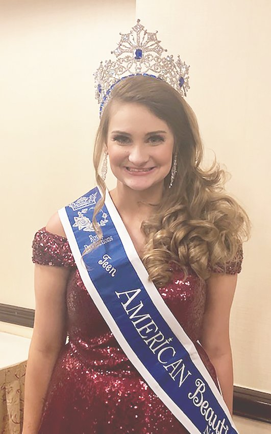 American Beauties National Teen Abby Terry. Submitted photo