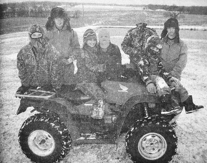 10 YEARS AGO — McKenzie students enjoyed a day out of school after a light snow blanketed Carroll County. Meanwhile, Weakley and Henry counties sustained heavy ice damage. Pictured are Collin Smith, Braxton Rider, Brittney Waddell, Lucas Waddell, Alex Rider, Dalton Waddell and Anders Rider.