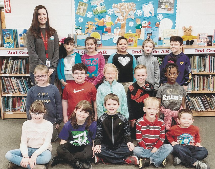 Miss April Stepp's first grade class reached its reading goal of 1,000 Accelerated Reader points in February. The class maintained an average of 92.7 percent correct in comprehension while achieving the goal. Congratulations to the class and keep up the hard work! Submitted photo