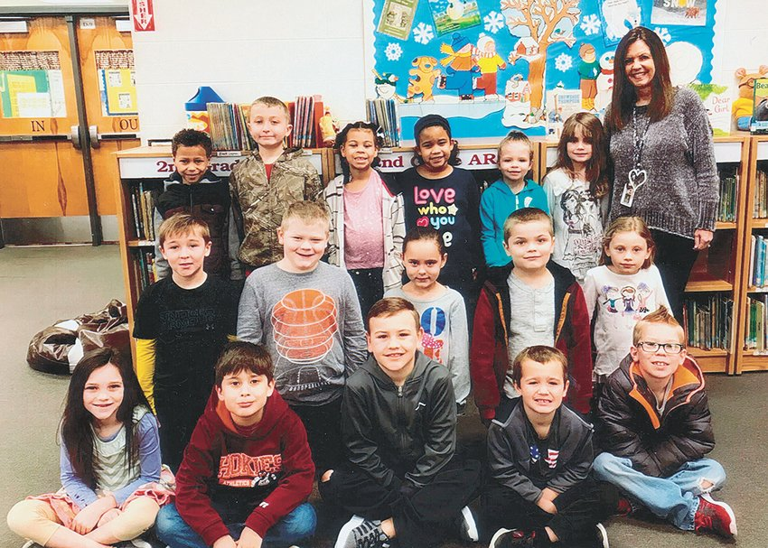 Mrs. Lorrie Brown's first grade class reached its reading goal of 1,000 Accelerated Reader points in February. The class maintained an average of 94.7 percent correct in comprehension while achieving the goal. Congratulations to the class and keep up the hard work! Submitted photo
