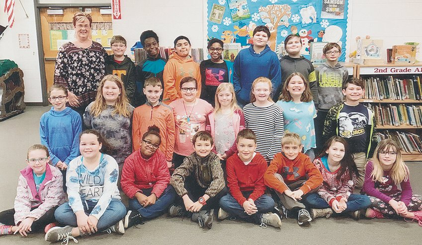 Mrs. Tiffany Smith's fourth grade class reached its reading goal of 1,000 Accelerated Reader points in January. The class maintained an average of 89.9 percent correct in comprehension while achieving the goal. Congratulations to the class and keep up the hard work!