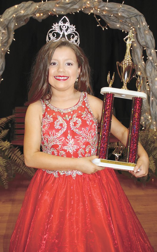 Aubrey Hammett, queen of the 8-9 year old group.