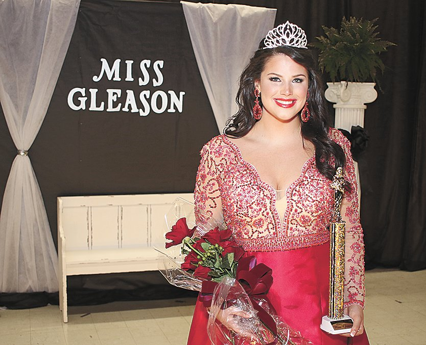 2019 Miss Gleason – Whitney Clark, daughter of Tim and Suzanne Clark.