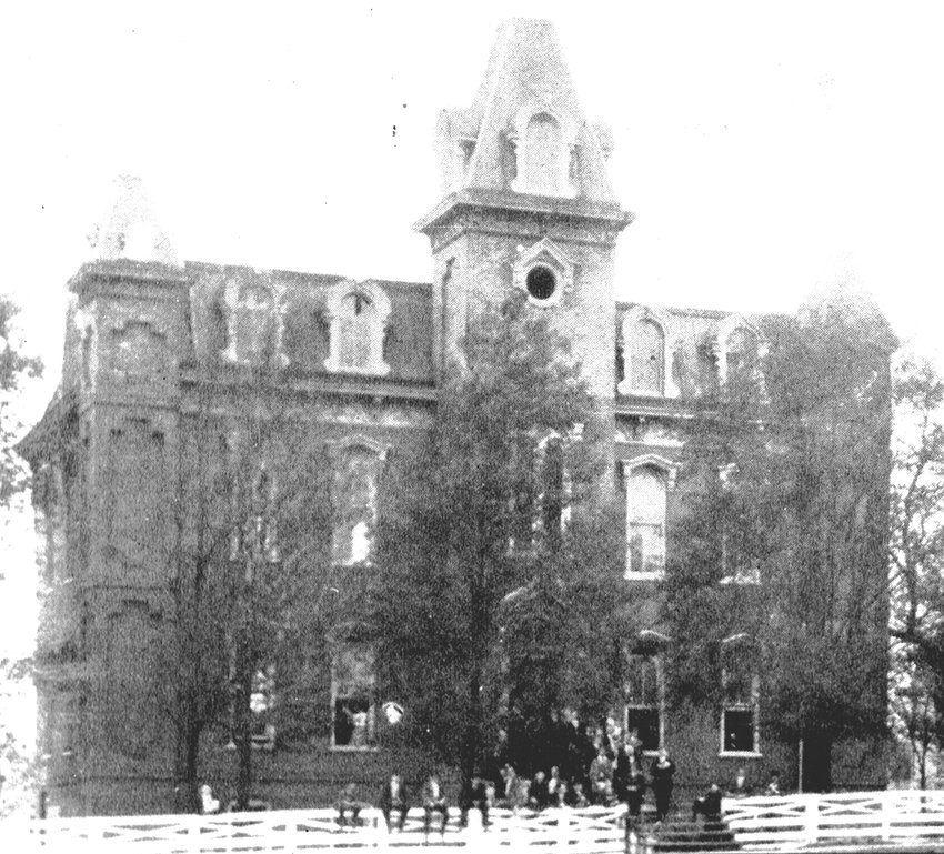 McTyeire School was McKenzie's first educational institution, coming to McKenzie from Caledonia in 1867 before there was a public school and before Bethel College moved from McLemoresville in 1872.