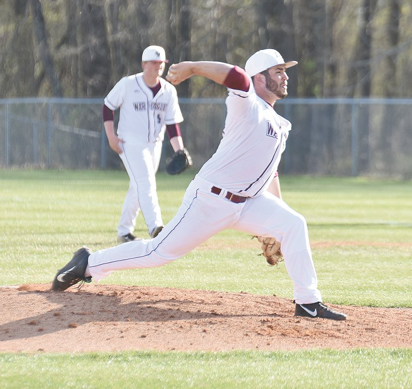 War Eagle Devin Nash took the loss for West Carroll, allowing seven earned runs on nine hits and two walks in three and a third innings.
