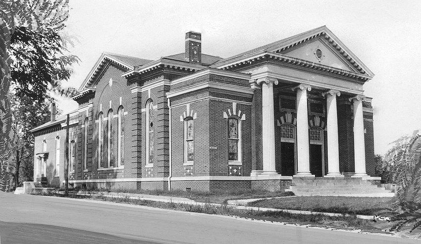 McKenzie First Methodist, 1911-1972.