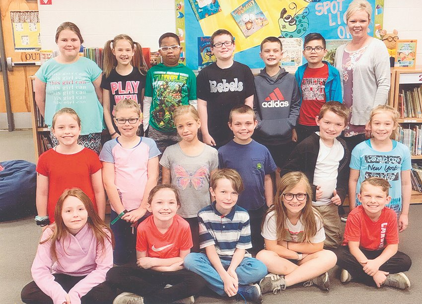 Mrs. Mary Spivey's third grade class reached its reading goal of 1,000 Accelerated Reader points in April. The class maintained an average of 89.8 percent correct in comprehension while achieving the goal. Congratulations to the class and keep up the hard work!