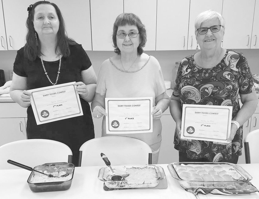 Winners: Danita Laman, Ruth McElroy, and Martha Sue Peters.
