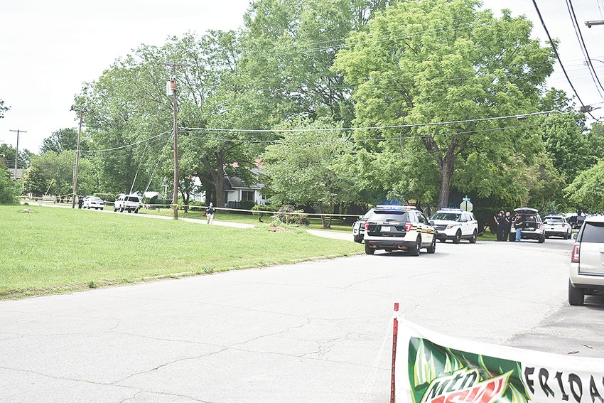 A portion of Euclid Avenue was closed off with police tape immediately following the shooting as McKenzie Police Department began its investigation, assisted by the Carroll County Sheriff's Department and Tennessee Highway Patrol.