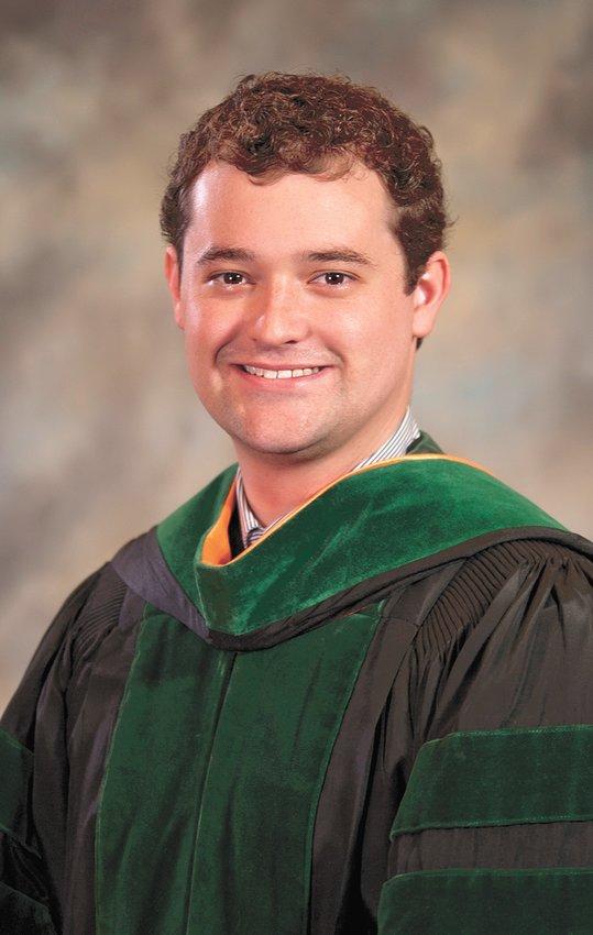 Benjamin Rollins, 2019 graduate of U.T. School of Medicine