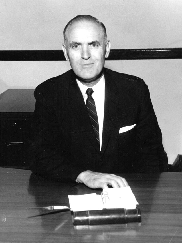Dr. Roy Baker was the president of Bethel College from 1945 until his death in 1968.