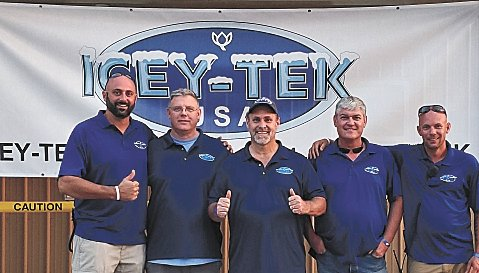 Icey-Tek Directors (L to R): Patrick Mudge, Walter Schnyder, Jack Schoenberger, Blaine Campbell, and Will Williams.