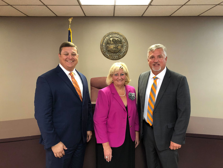 Vance Dennis, Vicki Hoover, and Brent Bradberry are seeking the Republican nominee for the office of Chancellor of the 24th Judicial District in Tennessee.