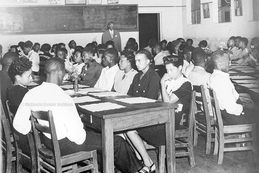 Banquet at Webb School, 1950s.