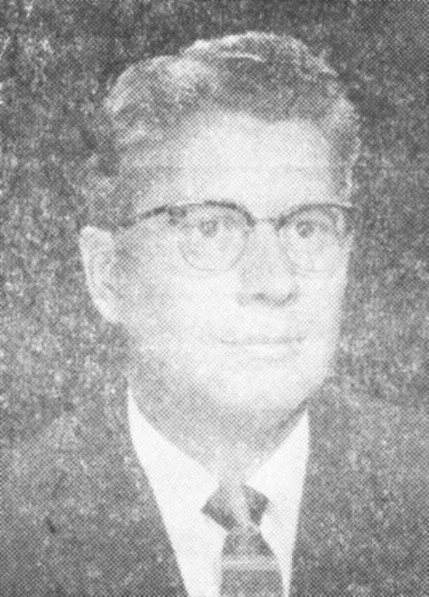 A photo of a young Dr. Orvis C. Wells. The photo was taken around 1956.
