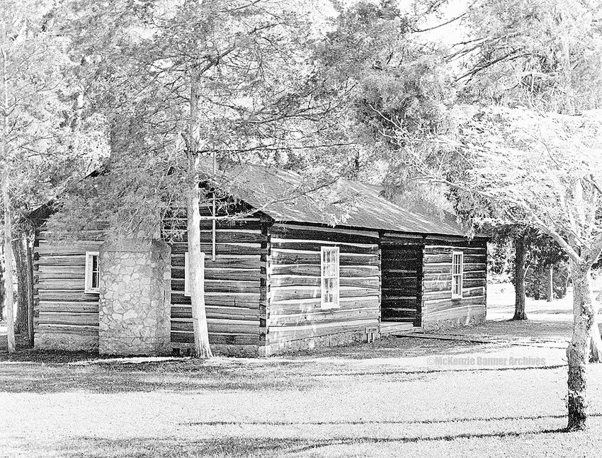 The Log Cabin on Bethel's campus.
