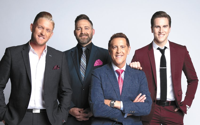 Ernie Haase + Signature Sound (L to R): Devin McGlamery, Paul Harkey, Ernie Haase and Dustin Doyle.