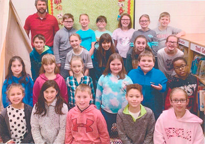 Congratulations to Mr. Chris Wall's fourth grade class of McKenzie Elementary for earning 1,000 Accelerated Reader points in January. They had 92 percent correct.
