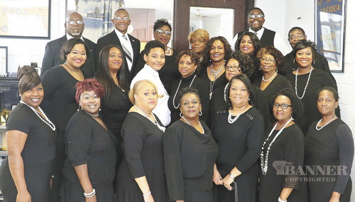 The Carroll County Mass Choir was comprised of members of various church choirs.