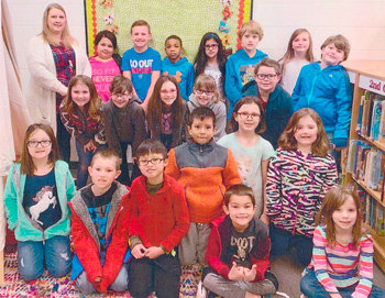 Congratulations to Cari Moore's second grade class at McKenzie Elementary School for earning 1,000 Accelerated Reader points in February. They had 92.1 percent correct.