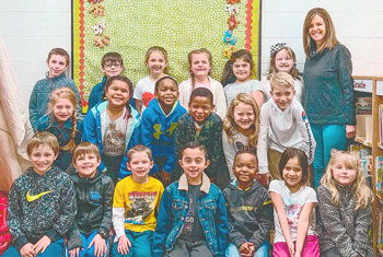 Congratulations to Lorrie Brown's first grade class at McKenzie Elementary School for earning 1,000 Accelerated Reader points in February. They had 93.5 percent correct.