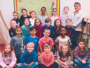 Congratulations to Mrs. Kelsey Brown's second grade class at McKenzie Elementary School for earning 1,000 Accelerated Reader points in March. They had 88 percent correct.