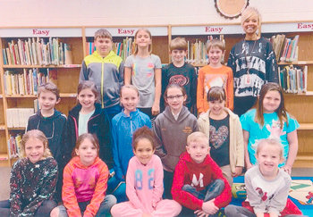Congratulations to Mrs. Courtney Kee's second grade class at McKenzie Elementary School for earning 1,000 Accelerated Reader points in March. They had 92.7 percent correct.
