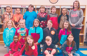 Congratulations to Mrs. Allison Winston's second grade class at McKenzie Elementary School for earning 1,000 Accelerated Reader points in March. They had 88.4 percent correct.