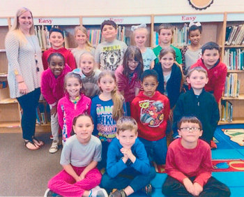 Congratulations to Ms. Rachel Newman's second grade class at McKenzie Elementary School for earning 1,000 Accelerated Reader points in March. They had 91.6 percent correct.