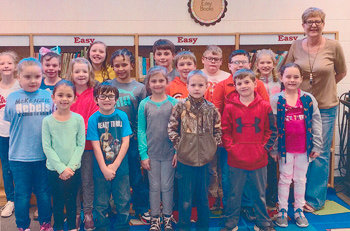 Congratulations to Ms. Lee Ann Coleman's second grade class at McKenzie Elementary School for earning 1,000 Accelerated Reader points in March. They had 88.8 percent correct.