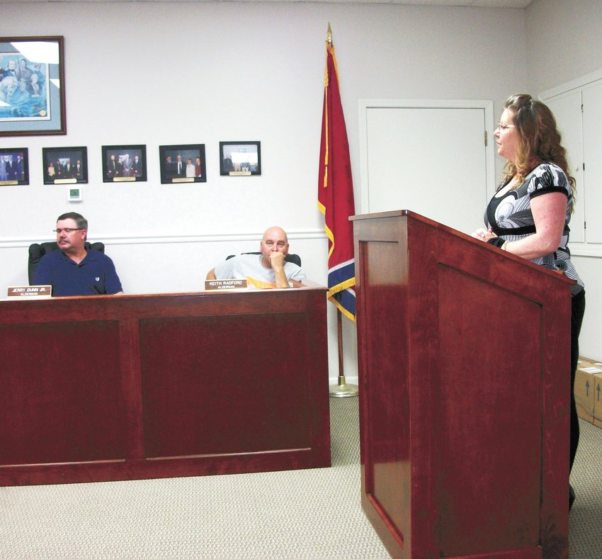 Sandy Hickey, office manager for BAM-2, a water and wastewater specialist company located in Gleason, stated the local business wishes to partner with the city on certain projects. She specifically mentioned installing a water splash pad at Snider Park.