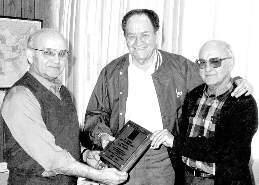 (L to R): W.D. Wilson, Ben Gaines and Wendell Manner.