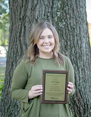 2020-21 Hutchins Scholar Kera Meggs