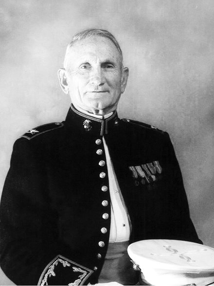 Colonel Kermit S. Holland served in the United States Marine Corps in World War II and the Korean War.