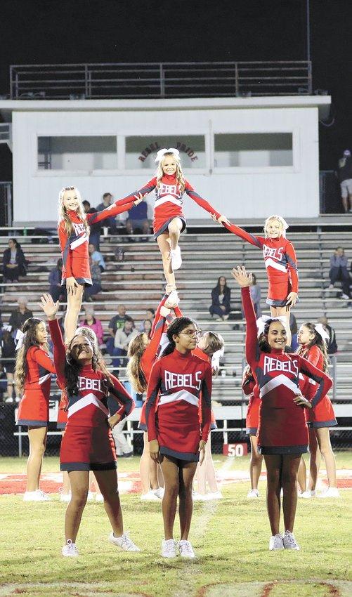 McKenzie Middle School Cheerleaders