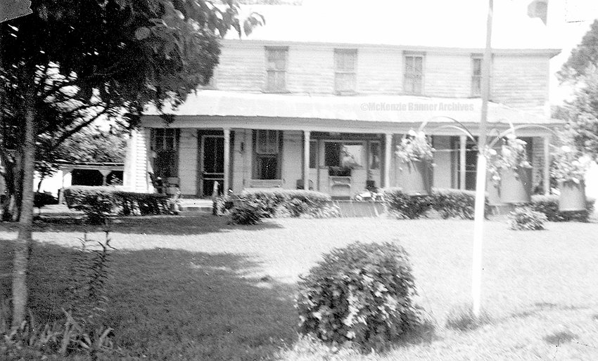 Ernest and Vadie Stokes worked on a farm in Dyersburg for 50 cents a day, saving for a place of their own. They bought the old Hearn farm bout 7½ miles outside McKenzie in the early 1950s. They lived on the farm until Mr. Stokes died in 1986. The house (shown here) was destroyed by a wind storm in the 1990s. The Stokes had three children: Beulah Mingle, Louis Stokes and Betty Reeves.