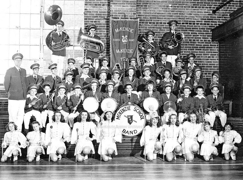 McKenzie High Band, 1948-49.