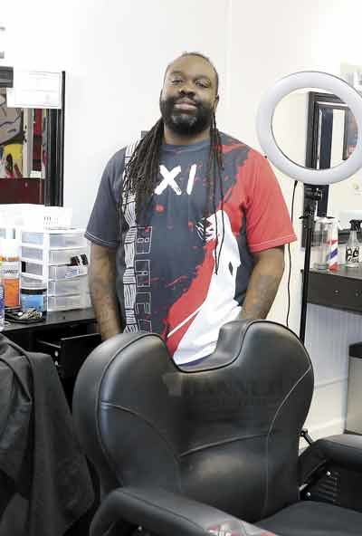 Tommy Horton is the barber/owner of Clean Kutz and loves the creativity of pleasing his customers.
