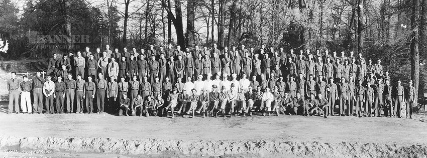 Civilian Conservation Corps - Co. 1470 - Camp Gordon Browning, McKenzie, 1934. President Roosevelt's New Deal era Civilian Conservation Corps Camps made a great impact on the lives of young men in the pre-World War II South. This CCC Camp was located in McKenzie on the old Highway 22 where the former farm of Aaron Bradfield stands today.