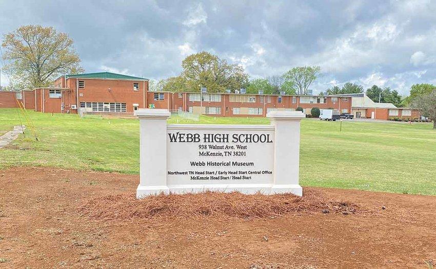 Webb School Has New Signage