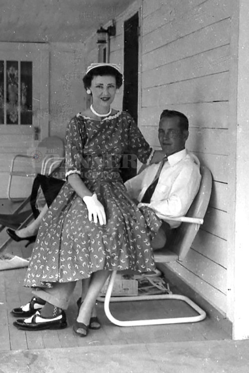 John and Melba Moseley were married January 1953.