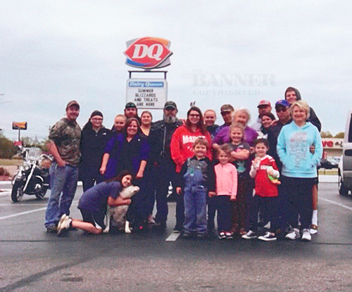 McKENZIE (April 17, 2021) — John and Hiawatha Bell celebrated their 56th Anniversary at Dairy Queen. Thank you to Ms. Connie for letting us meet there and for the awesome Oreo ice cream cake.