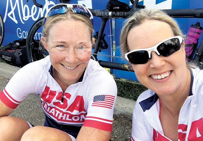 Kirsten Sass and Amy Dixon
